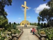 Mount Macedon memorial cross and forest loop