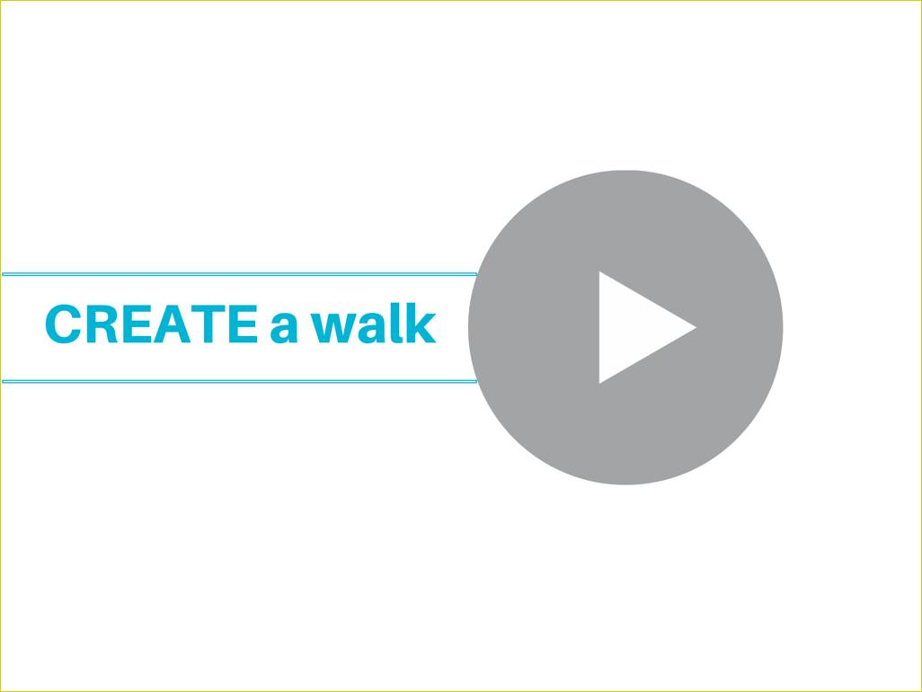 Video: how to create walks