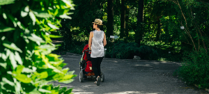 Pram-friendly walks
